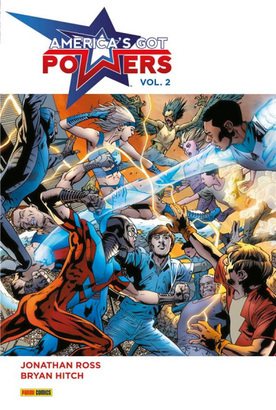 Couverture America's Got Powers tome 2
