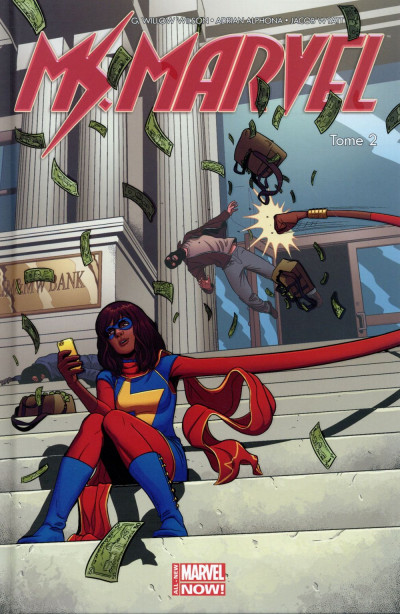 Couverture Ms. Marvel tome 2