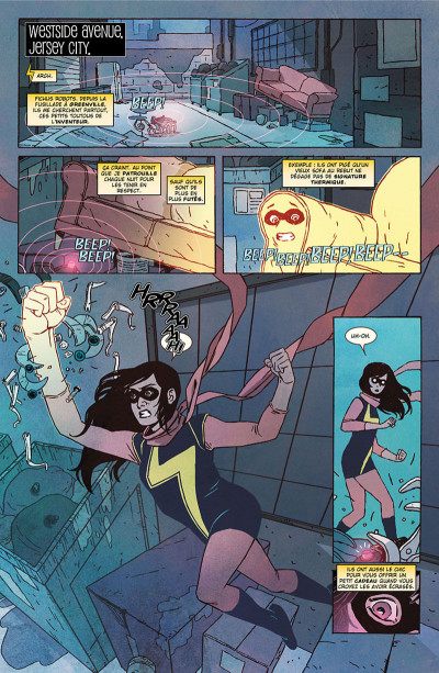 Page 6 Ms. Marvel tome 2