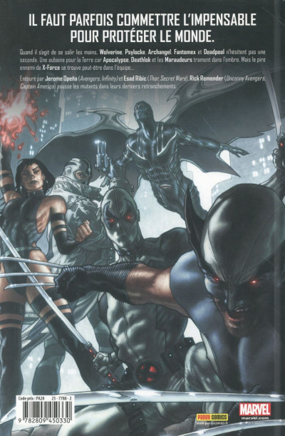 Dos Uncanny X-Force tome 1