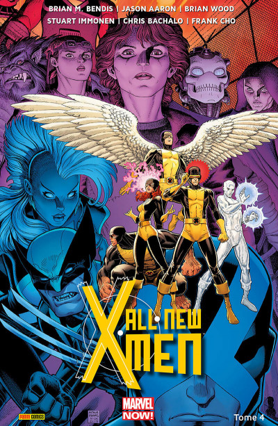 Couverture All-New X-Men tome 4