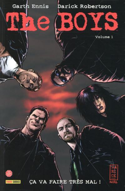 Couverture The boys - nouvelle édition tome 1