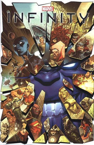 Couverture Infinity - marvel absolute
