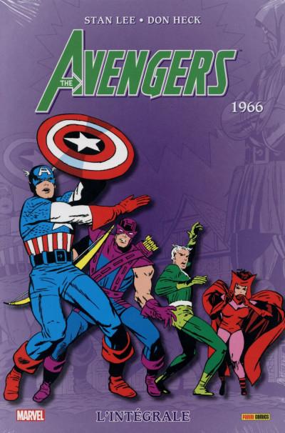 Couverture Avengers - Intégrale 1966 (édition 2015)