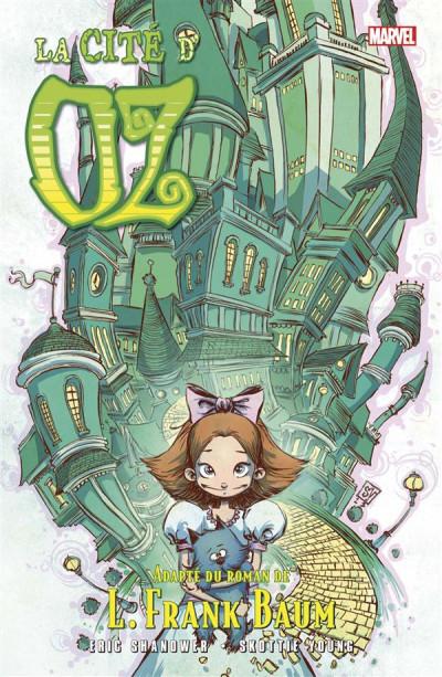 Couverture Le Magicien d'Oz tome 6