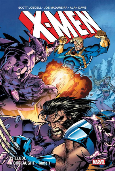 Couverture X-men - Prélude à Onslaught tome 1