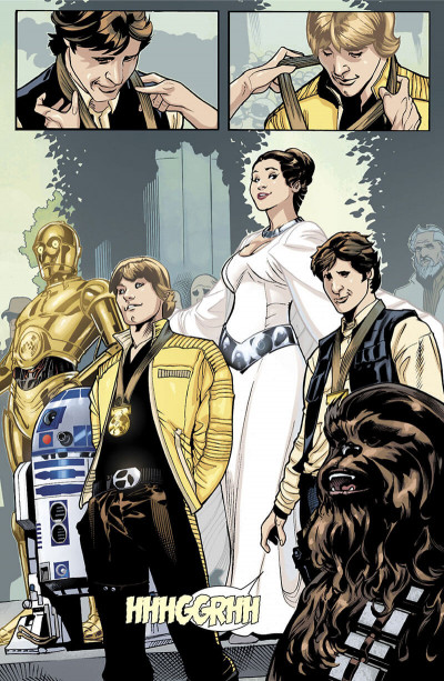 Page 7 Star Wars - Princesse Leia