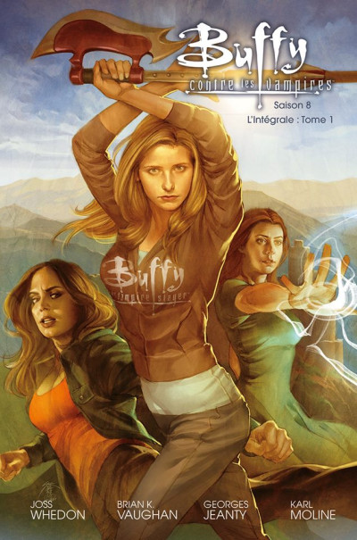 Couverture Buffy contre les vampires - saison 8 - intégrale tome 1