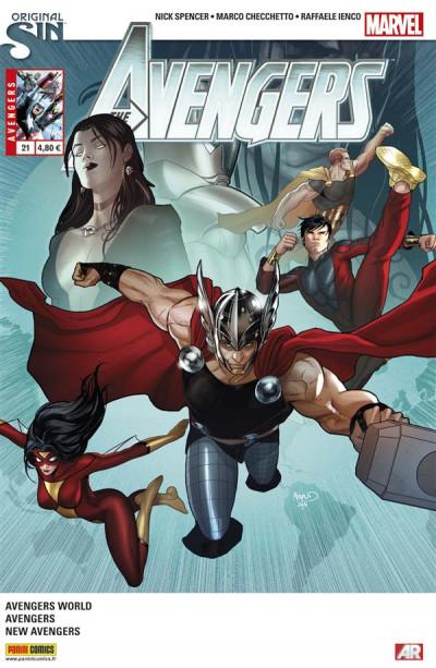Couverture Avengers 2013 tome 21 - Original Sin