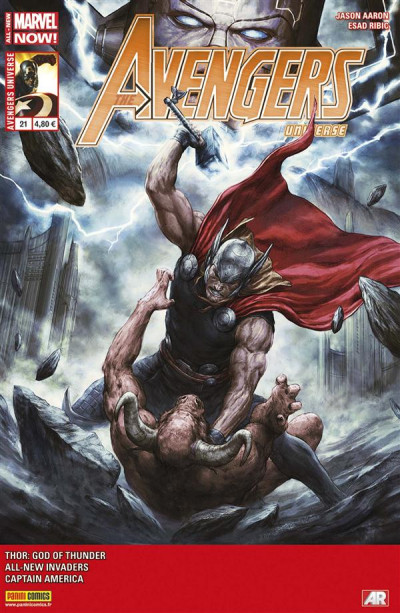 Couverture Avengers universe tome 21