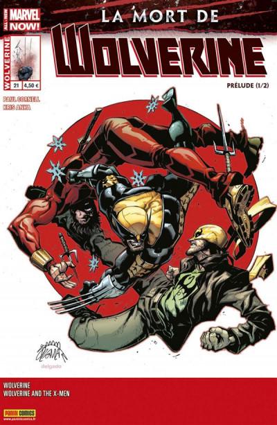 Couverture Wolverine 2013 tome 21 - La mort de Wolverine - Prélude 1/2