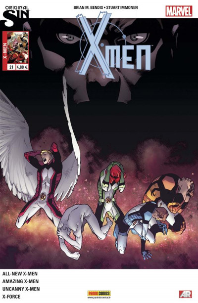 Couverture X-Men 2013 tome 21 - Original Sin