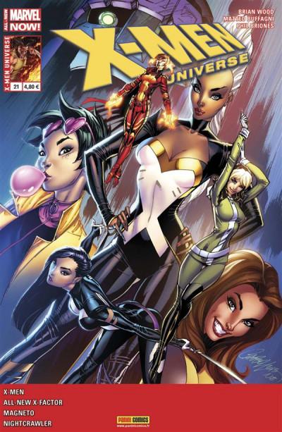 Couverture X-Men Universe 2013 tome 21 - Décrépitude