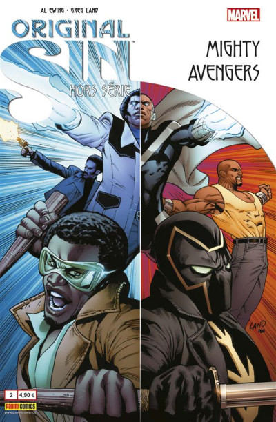 Couverture Original sin HS tome 2 - Mighty Avengers