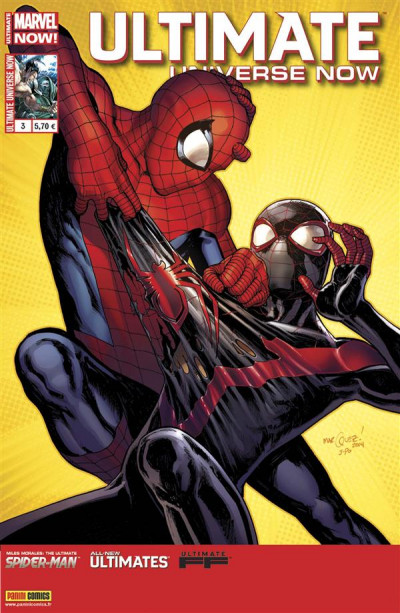 Couverture Ultimate universe now tome 3
