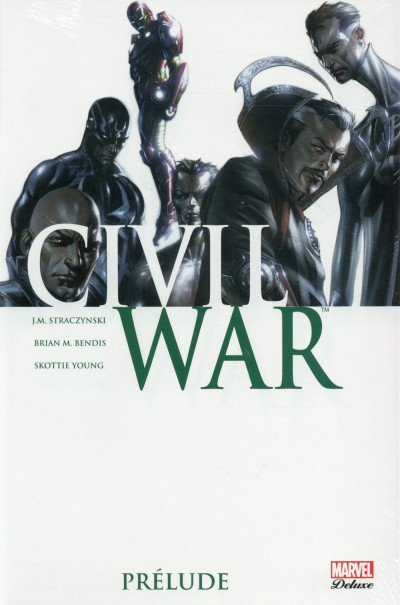 Couverture Civil war - Prélude