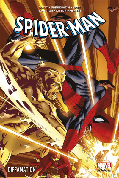 Couverture Spider-Man - Diffamation