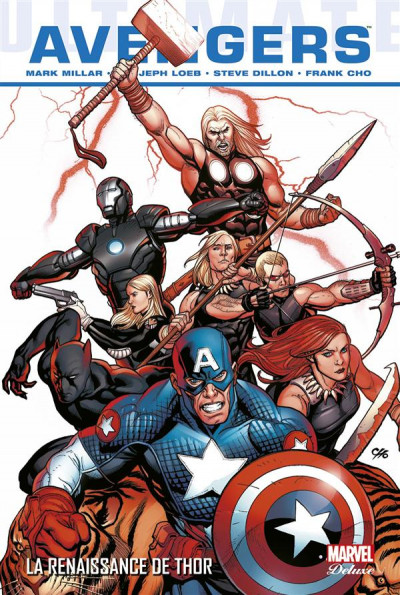 Couverture Ultimate Avengers tome 2