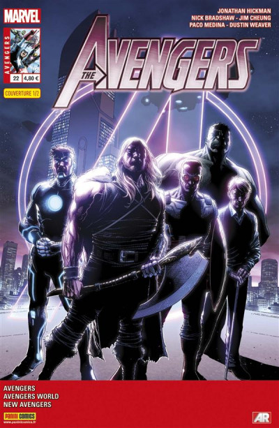 Couverture Avengers 2013 tome 22 - 1/2 Jim Cheung
