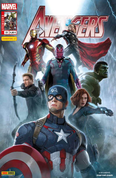 Couverture Avengers 2013 tome 22 - Cover 2/2