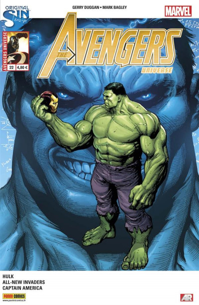 Couverture Avengers Universe tome 22 - Original Sin