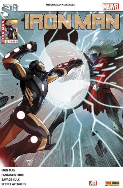 Couverture Iron Man 2013 tome 22 - Original Sin
