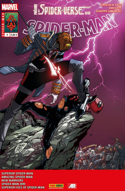 Couverture Spider-Man 2014 tome 4 - Edge of Spider-Man : Prélude (1/2)