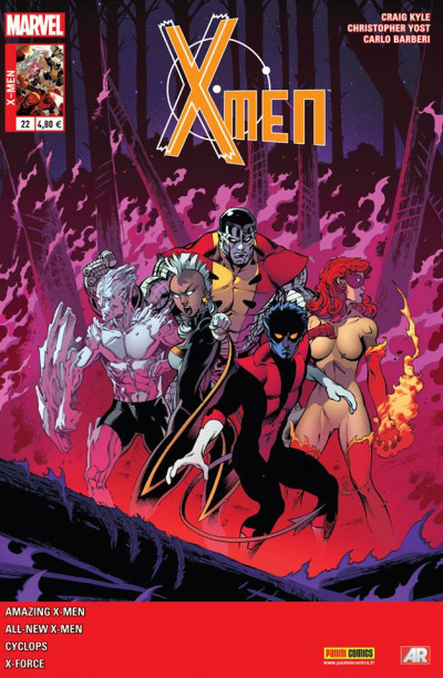 Couverture X-Men 2013 tome 22