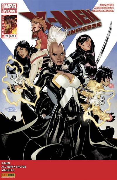 Couverture X-Men Universe 2013 tome 22