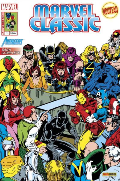 Couverture Marvel Classic V2 tome 1