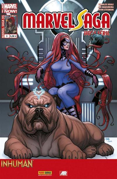 Couverture Marvel Saga HS tome 3 - Inhumain 1