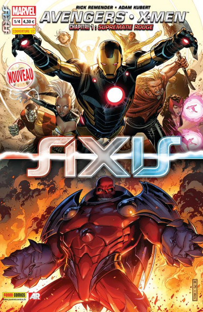 Couverture Axis tome 1 - cover 1/2 Jim Cheung