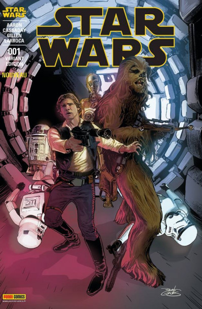 Couverture Star Wars fascicule tome 1 - Cover 3/10 de Guedes