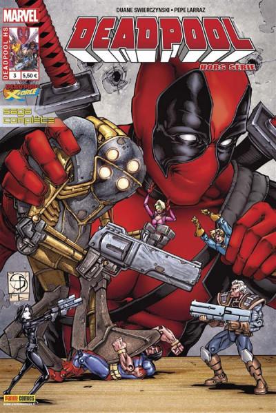 Couverture Deadpool HS tome 3 - Deadpool Vs X-Force