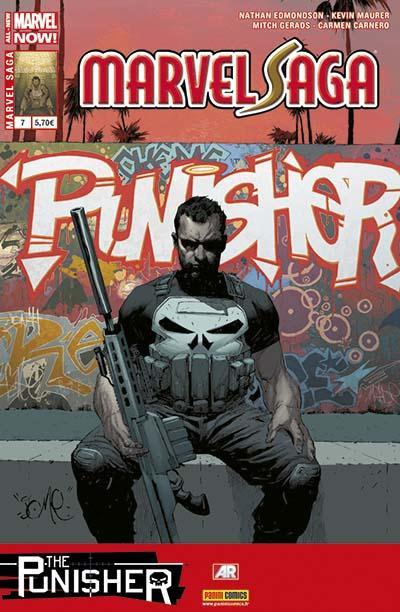 Couverture Marvel Saga tome 7 - Punisher 2