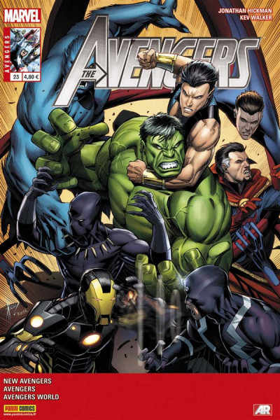 Couverture Avengers 2013 tome 23