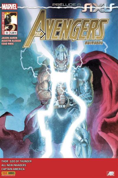 Couverture Avengers Universe tome 23 - En route vers Axis !