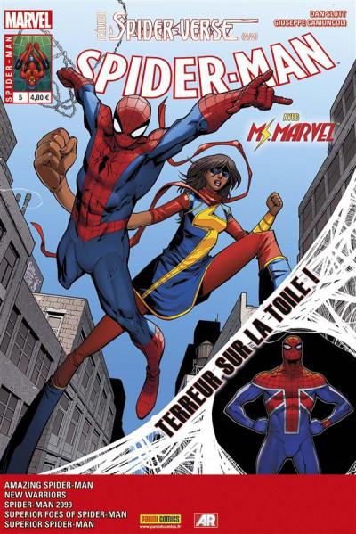Couverture Spider-Man 2014 tome 5 - Prélude à Spider-verse 2/2