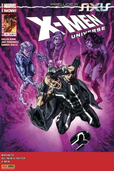 Couverture X-Men Universe 2013 tome 23 - En route vers Axis !