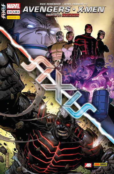 Couverture Axis tome 2 - Cover 2/2 de Jim Cheung