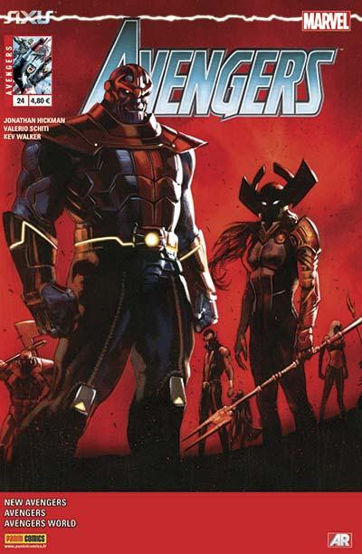 Couverture Avengers 2013 tome 24 - Axis continue ici !