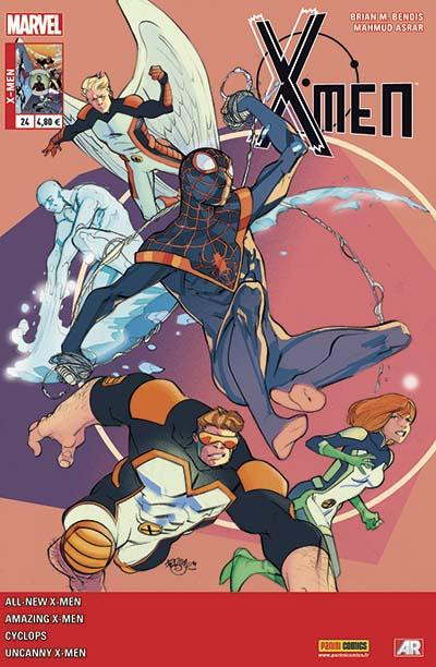 Couverture X-Men 2013 tome 24
