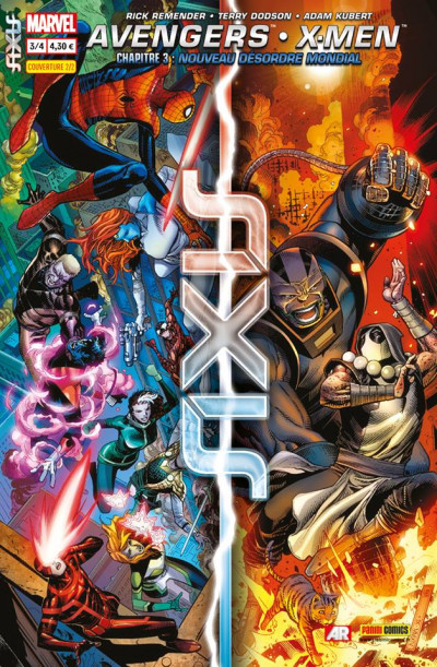 Couverture Axis tome 3 - Cover 2/2 Jim Cheung
