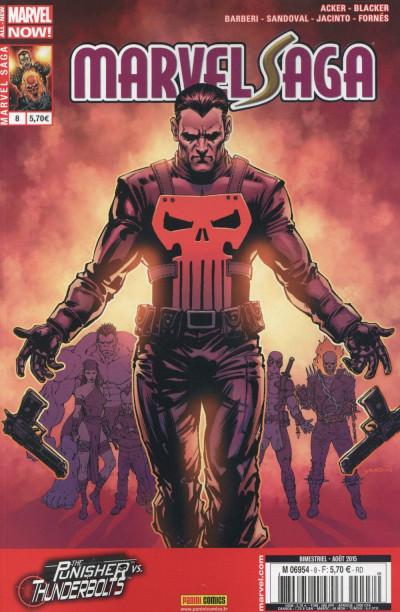 Couverture Marvel Saga V2 tome 8 - Punisher Vs Thunderbolts