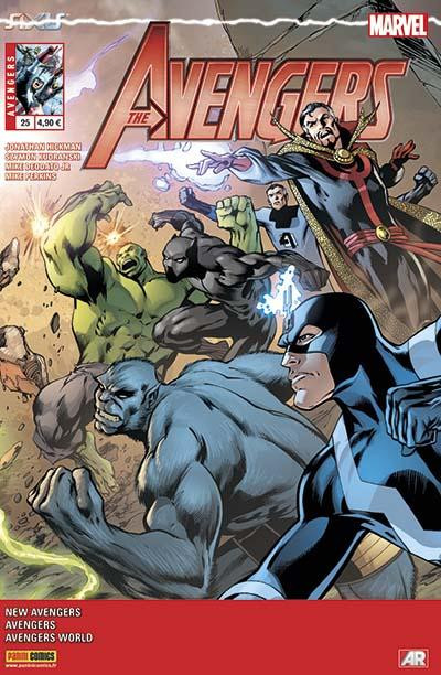 Couverture Avengers 2013 tome 25 - Axis Continue Ici !