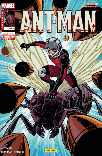 Couverture Ant-Man tome 1 - Cover 1/2 de Chris Samnee