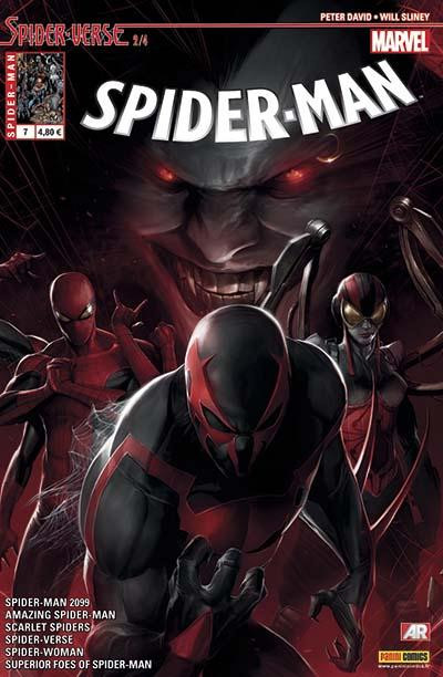 Couverture Spider-Man 2014 tome 7
