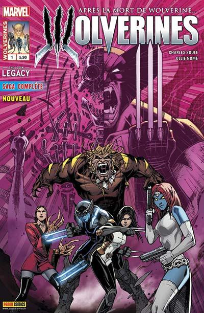 Couverture Wolverines tome 1