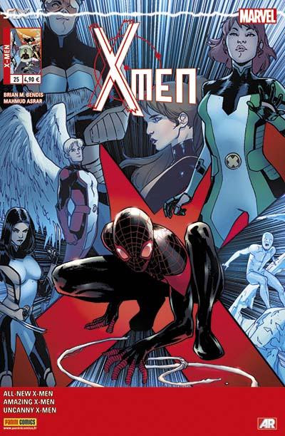 Couverture X-Men 2013 tome 25 - Axis Continue Ici !