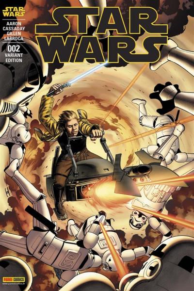 Couverture Star Wars fascicule tome 2 - VC par John Cassaday